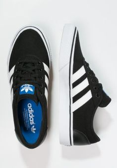 adidas Originals - ADI-EASE - Trainers - core black/white