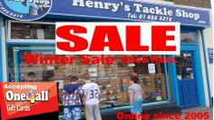 Winter Sale www.henrystackleshop.com visit our site for thousands of Fishing products #Fishing #Reels #Rods #Tackle Fishing Tackle Shop, Gone Fishing, Fishing Reels, Uk Europe, Winter Sale, Dublin Ireland, Fishing Equipment, Fresh Water, Shopping
