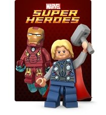 All time fave - lego, and new time fave - avengers. Perfect match :)
