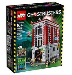 Lego 75827 Ghostbuster Caserma dei vigili del fuoco. Include oltre 4.600 pezzi. Misura 36 cm di altezza, 25 cm di larghezza e 38 cm di profondità Con le pareti aperte, misura 36 cm di altezza, 46 cm di larghezza e 38 cm di profondità