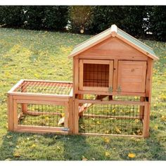 Pawhut Wooden Bunny Rabbit Hutch with Outdoor Run | Overstock.com Shopping - The Best Deals on Other Pet Houses