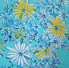 Lilly Pulitzer 2016 Spring  DAISY DANCE Jacquard Cotton Fabric 1 Yard