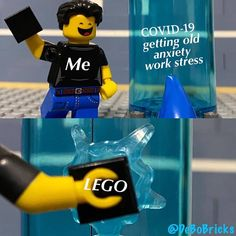 Staying in the LEGO room until 2020 is over be like... Follow @brickinspired for more #LEGO inspiration! #brickinspired : @debobricks Amazing Lego Creations, Lego Room, Work Stress, Getting Old, Minions, Fictional Characters, Inspiration, Biblical Inspiration, The Minions