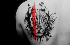 #tattooart #ink #lion
