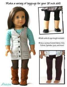a5fe35806 490 Best Doll clothes. 18in. Etc images in 2019 | American girl ...