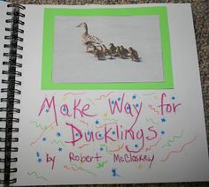 some good ideas for make way for ducklings