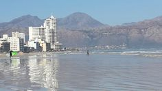 Strand beach - beautiful winters day in July. Cape Town. South Africa #strand #strandbeach