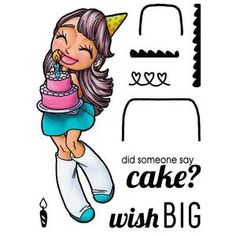 Big Wishes Clear Stamp - Some Odd Girl