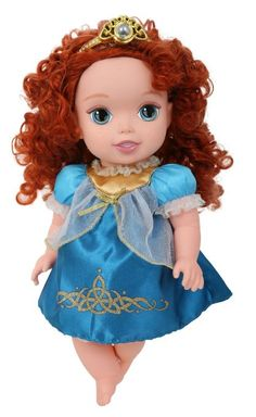 Amazon.com: My First Disney Princess Deluxe Baby Merida Doll: Toys  Games