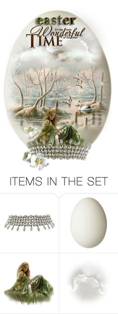 """""""Easter Egg 2015"""" by ragnh-mjos ❤ liked on Polyvore featuring art, Easter, egg and Spring2015"""