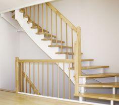 holztreppe oslo stiegenhaus zubau beispiel treppe. Black Bedroom Furniture Sets. Home Design Ideas