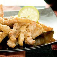 Pollo al Limón y Sésamo.