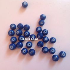 ADD A BEAD: GB6 - 4 size 6mm price : 35 inr for 50 beads