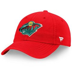 new product ac38d bad8f Youth Minnesota Wild Fanatics Branded Red Core Fundamental Adjustable Hat,  Your Price   17.99