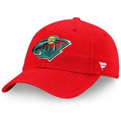 e14e8ae7702320 Youth Minnesota Wild Fanatics Branded Red Core Fundamental Adjustable Hat,  Your Price: $17.99