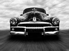 Speeding FJ Holden Artwork For Sale
