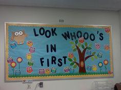 The Little Things Blog :  Owl Bulletin Board