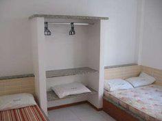 cama embutida alvenaria - Pesquisa Google