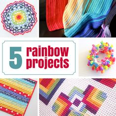 5 Rainbow Projects to Try Today - The Crafty Mummy
