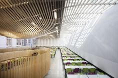 Bruyère High School Cafeteria Refurbishment,© Charly Broyez