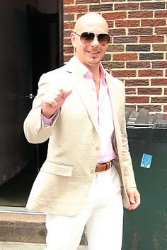 pitbull | Pitbull Pictures & Photos - Miami rapper Pitbull is in a great mood as ...