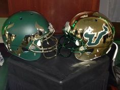 South Florida Kicks Off the 2014 Uniform Swag War With New Helmets [PHOTO] | FatManWriting