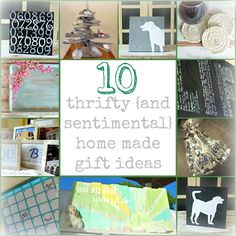 10 meaningful and inexpensive homemade gift ideas