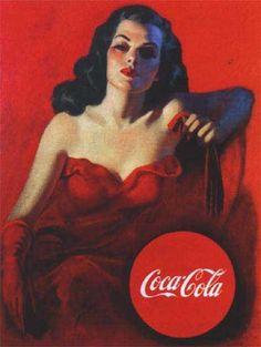 vintage Cuban Coca Cola art : )