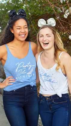 ✨Party 'til Midnight in these adorable sparkly tanks! Super soft and glittery and perfect for a magical bachelorette weekend! Plus our new flowy tanks are oh-so-soft, oh-so-comfy and oh-so-flattering for all body types. #bacheloretteparty #bridal Bachelorette Party Themes, Bachelorette Weekend, White Tank, Body Types, Bride, Tanks, Wedding, Comfy, Collection