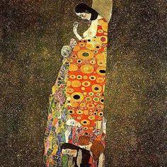 """Gustav Klimt  Austrian  1862 - 1918  """"Hope"""""""
