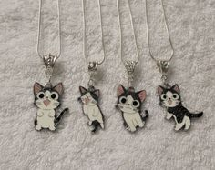 CHI's SWEET HOME Kitty Cat Japanese Anime Inspired Charm Necklace 4 Choices