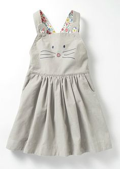 Sweet Cotton Cord Mouse Dress | Boden
