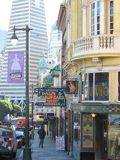 Jack Kerouac Street, San Francisco