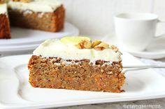 Rezepte mit Herz   ♥: Carrot Cake - Möhrenkuchen mit Mascarpone - Limett...