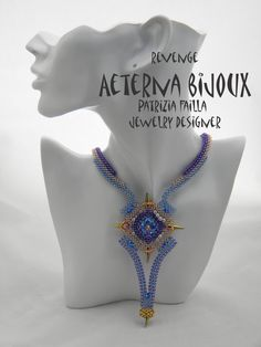 Beading tutorial Revenge beadwork bead pattern by aeternabijoux