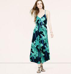 LOFT - Night Lily Maxi Dress