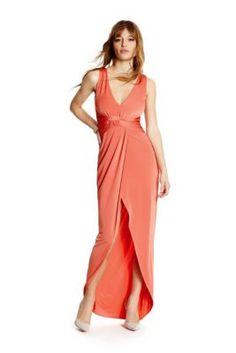 Treccia Maxi Dress | GUESS.ca