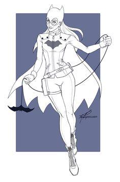 Batgirl by KirstyCarter on DeviantArt