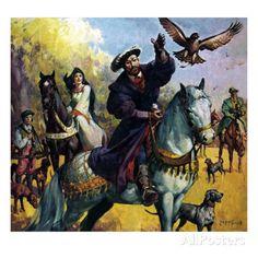 Henry VIII and Anne Boleyn | Henry Viii and Anne Boleyn Giclée-Druck von McConnell bei AllPosters ...