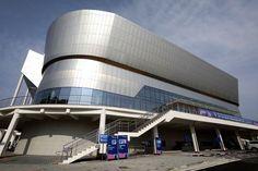PyeongChang Winter Olympics 2018 Venues   Photo 6   TMZ.com Pyeongchang 2018 Winter Olympics, Abandoned Places, Opera House, Steel, Building, Centre, Winter Olympics, Ice Hockey, Architecture