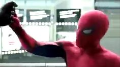 """Captain America: Civil War - Official """"Spider-Man"""" TV Spot #30 [HD] OMG LOVE THE NEW SPIDERMAN LINES..... """" You have a metal arm? That is AWESOME dude!""""..... """" Hey everyone.... Hello Captain, big fan."""" lol XD XD"""