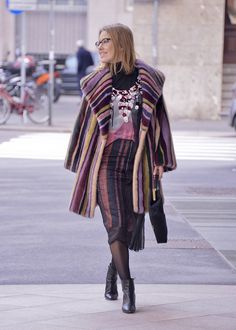Ksenia Sobchiak #braschi #fur #celebrity #fashion #glamour #style #classy #luxury