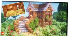 Here you can share your Minecraft builds and seek advice and feedback from like minded builders! From PC to Pocket Edtion, Professional to novice. Cute Minecraft Houses, Minecraft Houses Survival, Minecraft Plans, Minecraft Room, Amazing Minecraft, Minecraft House Designs, Minecraft Blueprints, Minecraft Crafts, Minecraft Buildings