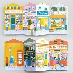 Up My Street Louise Lockhart Children's Book Illustration, Graphic Design Illustration, Posca Art, Buch Design, Illustrations And Posters, Paper Art, Book Art, Art Drawings, Wallpaper