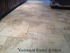 """This porcelain tile is installed in the """"pinwheel"""" pattern"""