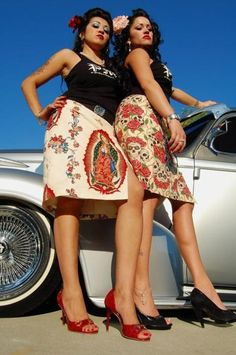 Want those skirts.