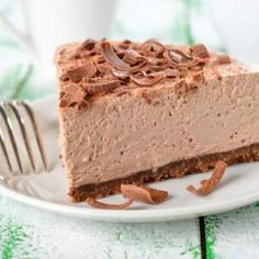 Easy, 3-Step No-Bake Chocolate Cheesecake