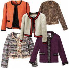 casaqueto tweed - Pesquisa Google