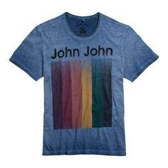 T-SHIRT TV SCREEN JOHN JOHN DENIM | SHOP ONLINE | Compre a nova coleção pelo site oficial.