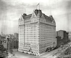"New York circa 1912. ""Plaza Hotel, Fifth Avenue.""Shorpy Historic Picture Archive :: The Plaza: 1912 high-resolution photo"